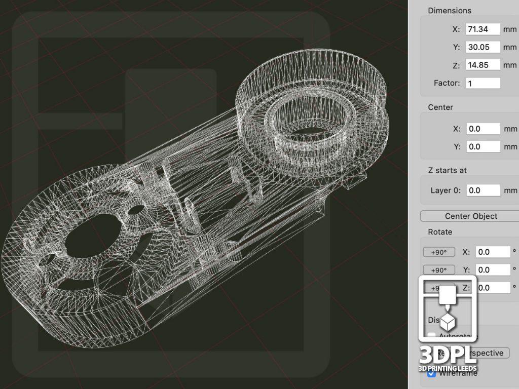 Resin Printed Parts