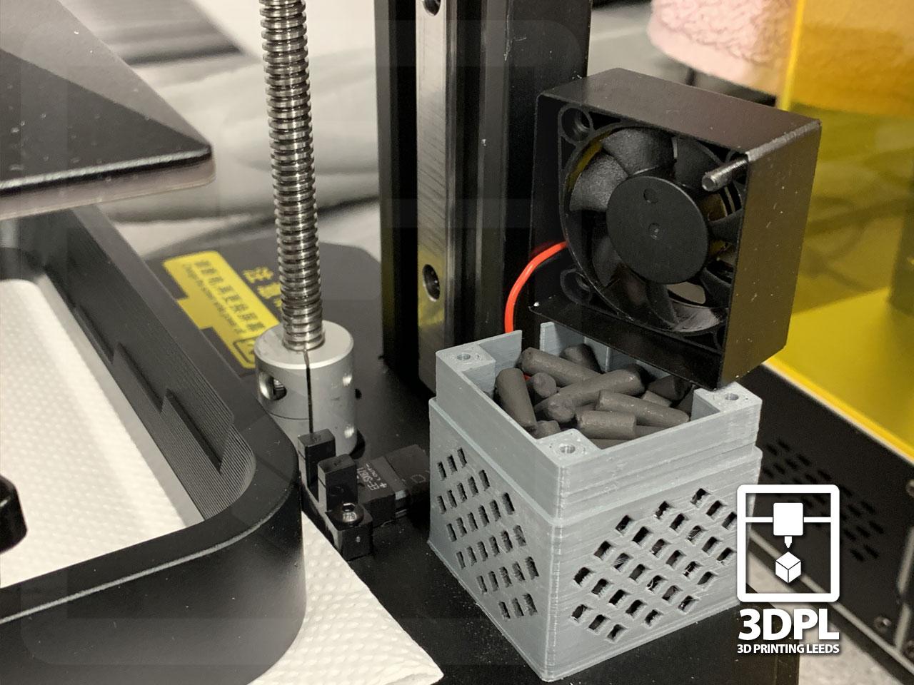 3D Resin Printers : Modifications - Gasket