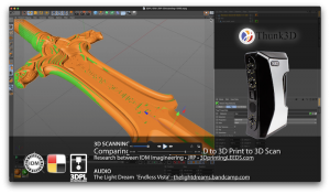 3D Scanning & Reverse Engineering