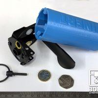 Smoke Grenade INERT Dummy Base for Training